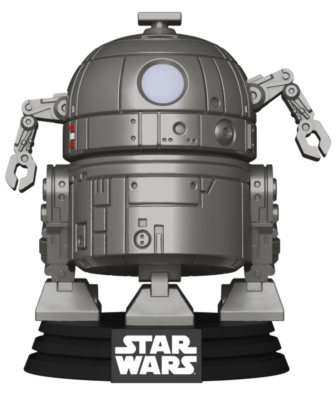 Фигурка Funko POP: Star Wars Concept Series – R2-D2 Bobble-Head (9,5 см) funko pop bobble фигурка star wars solo qi ra pop 6 26977