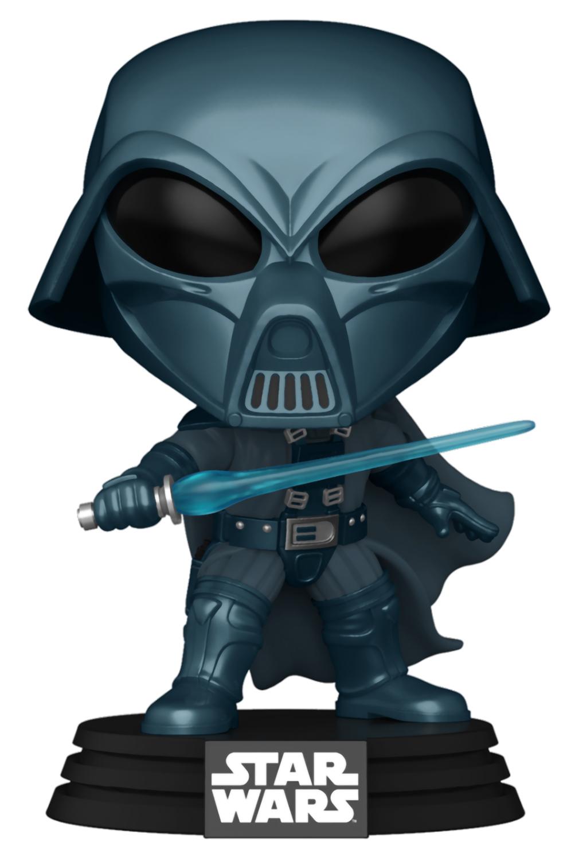 Фигурка Funko POP: Star Wars Concept Series – Darth Vader Bobble-Head (9,5 см) funko pop bobble фигурка star wars solo qi ra pop 6 26977