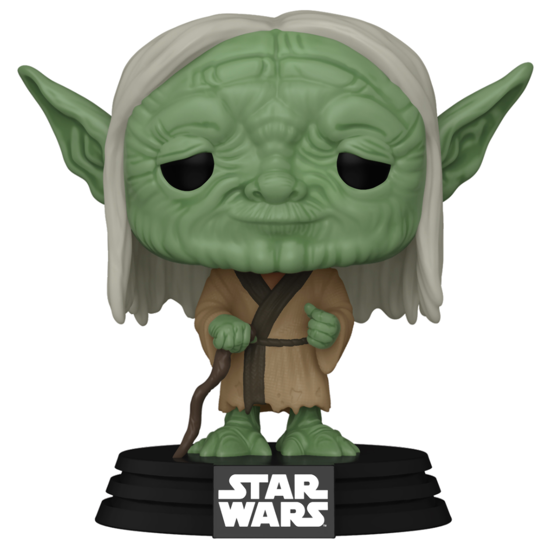 Фигурка Funko POP: Star Wars Concept Series – Yoda Bobble-Head (9,5 см) funko pop bobble фигурка star wars solo qi ra pop 6 26977