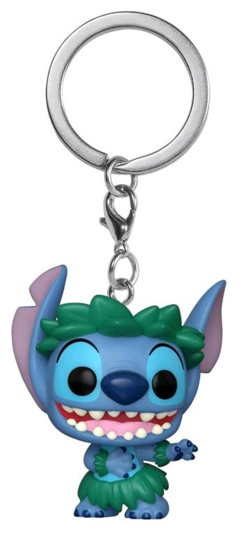 Брелок Funko Pocket POP: Disney Lilo & Stitch – Stitch In Hula Skirt stitch by stitch