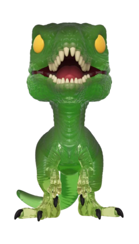 Фигурка Funko POP Movies: Jurassic Park 25th Anniversary – Velociraptor Green Exclusive (9,5 см) фигурка funko pop movies alien covenant – david 9 5 см