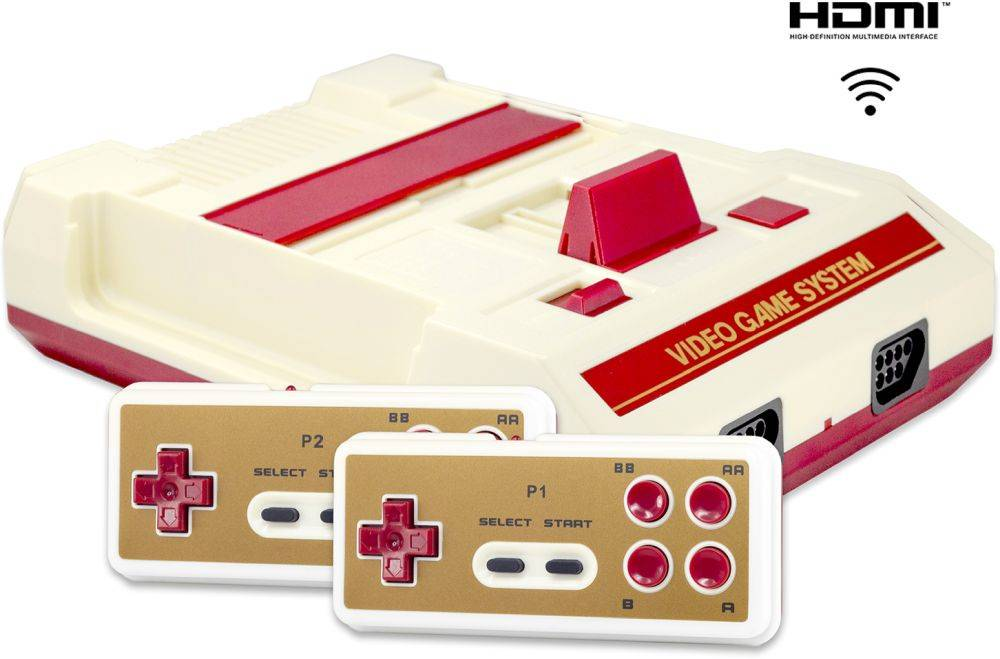Фото - Игровая приставка Retro Genesis 8 Bit HD Wireless + 300 игр приставка игровая 8 bit орбита ot tyg05