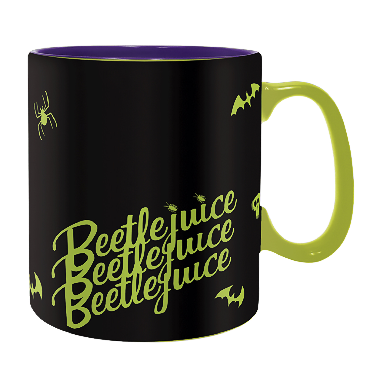 Кружка Beetlejuice Heat Change (460мл)