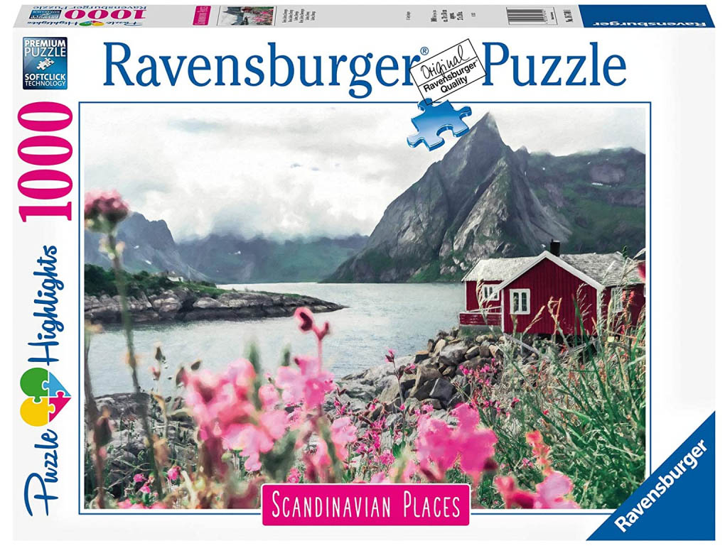 Puzzle Рейне: Лофотенские острова. Норвегия (1000 элементов)