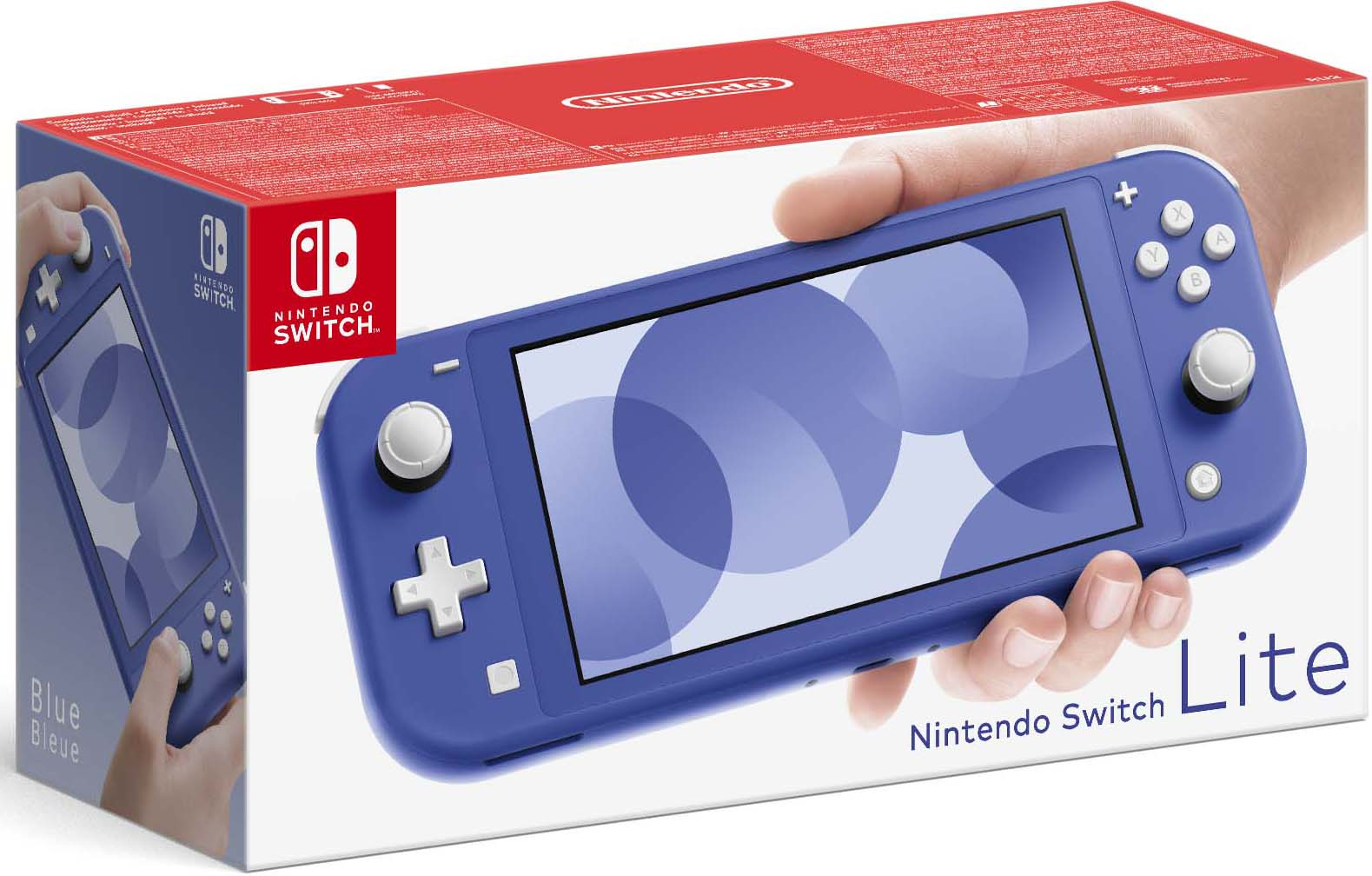 Фото - Игровая консоль Nintendo Switch Lite (синий) игровая приставка nintendo switch lite grey