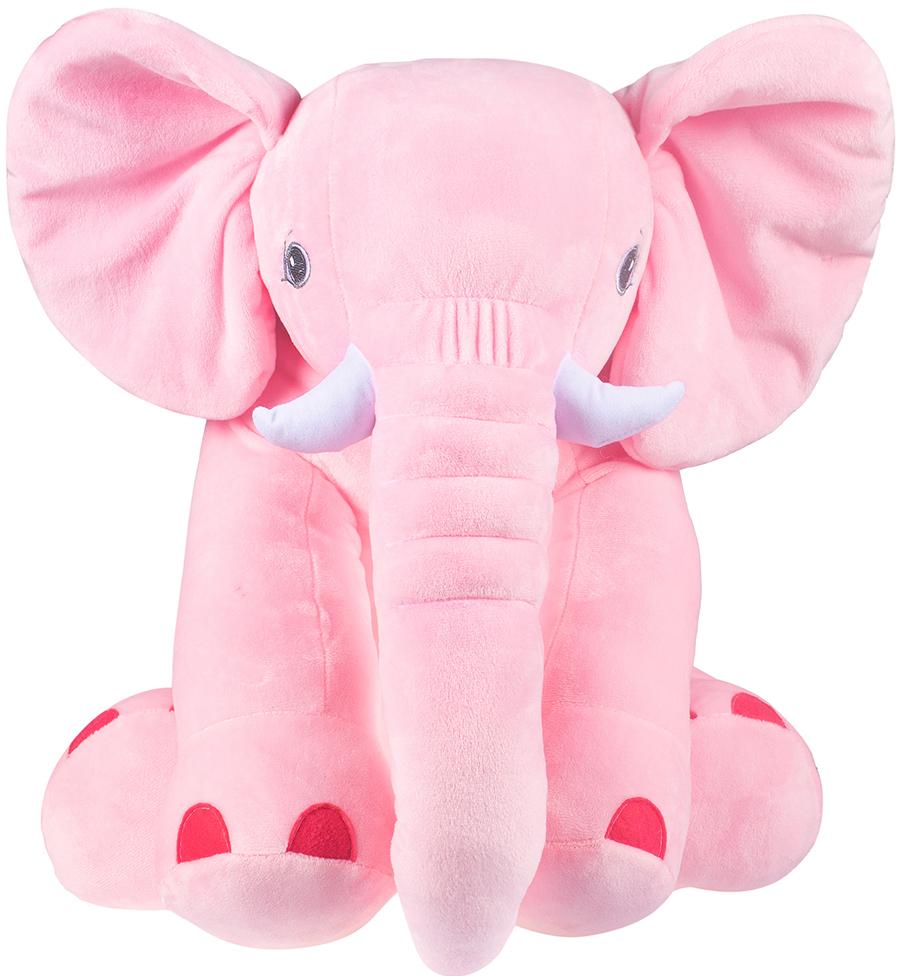 Мягкая игрушка Слон Элвис (розовый)