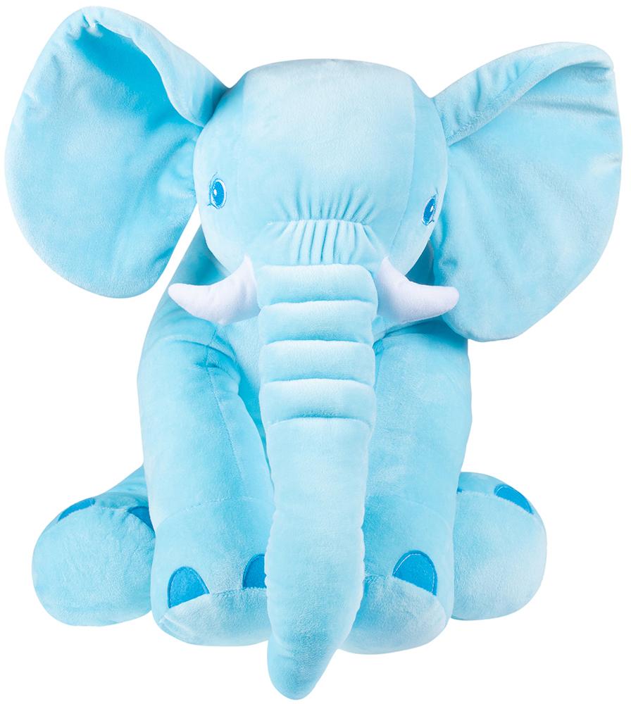 Мягкая игрушка Слон Элвис (голубой)