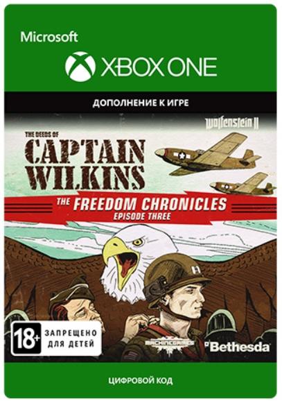 Wolfenstein II: The New Colossus. The Deeds of Captain Wilkins. Дополнение [Xbox,Цифроваяверсия] (Цифровая версия)