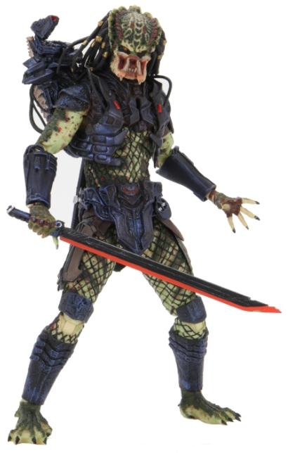 Фигурка NECA: Predator 2 – Ultimate Lost Predator Scale Action Figure (17 см) фигурка planet of the apes action figure classic gorilla soldier 2 pack 18 см
