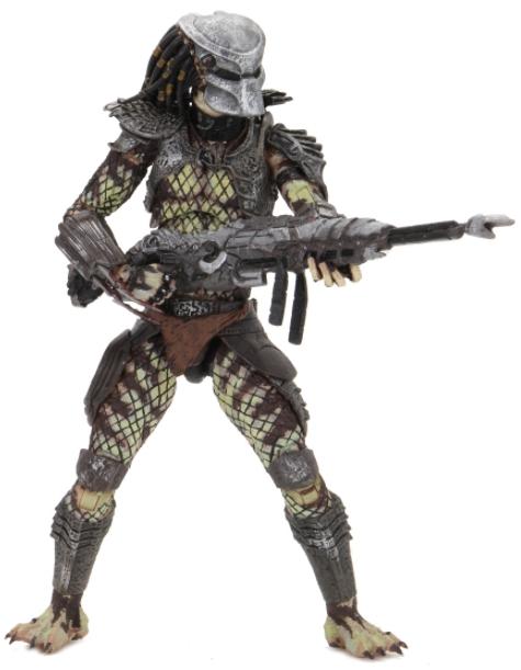 Фигурка NECA: Predator 2 – Ultimate Scout Predator Scale Action Figure (17 см) фигурка planet of the apes action figure classic gorilla soldier 2 pack 18 см