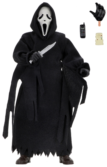 Фигурка NECA: Scream – Ghost Face Clothed Action Figure (20 см)