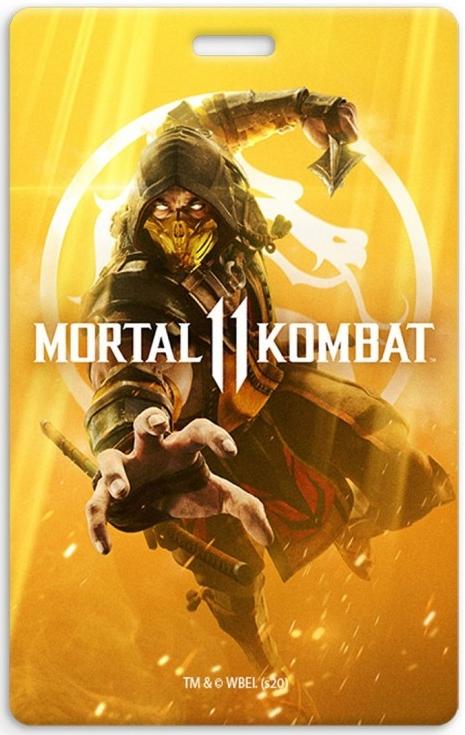 Кардхолдер Mortal Kombat: Scorpion – Дизайн 1