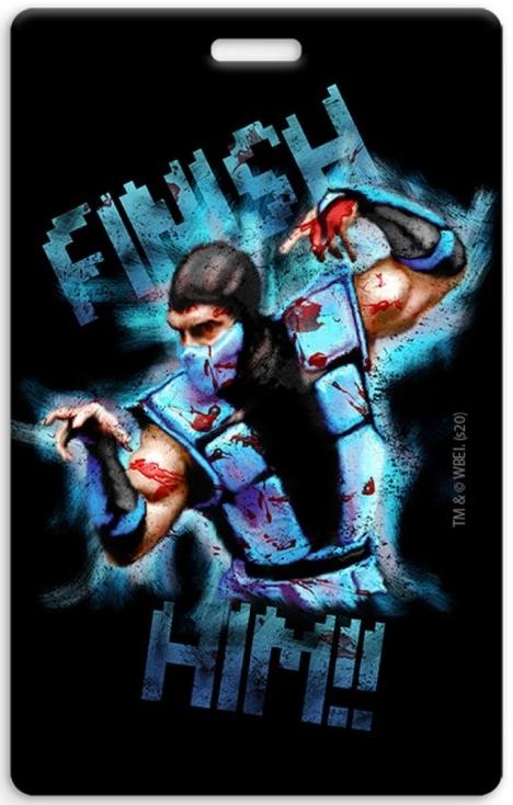 Кардхолдер Mortal Kombat: Sub-Zero – Дизайн 2