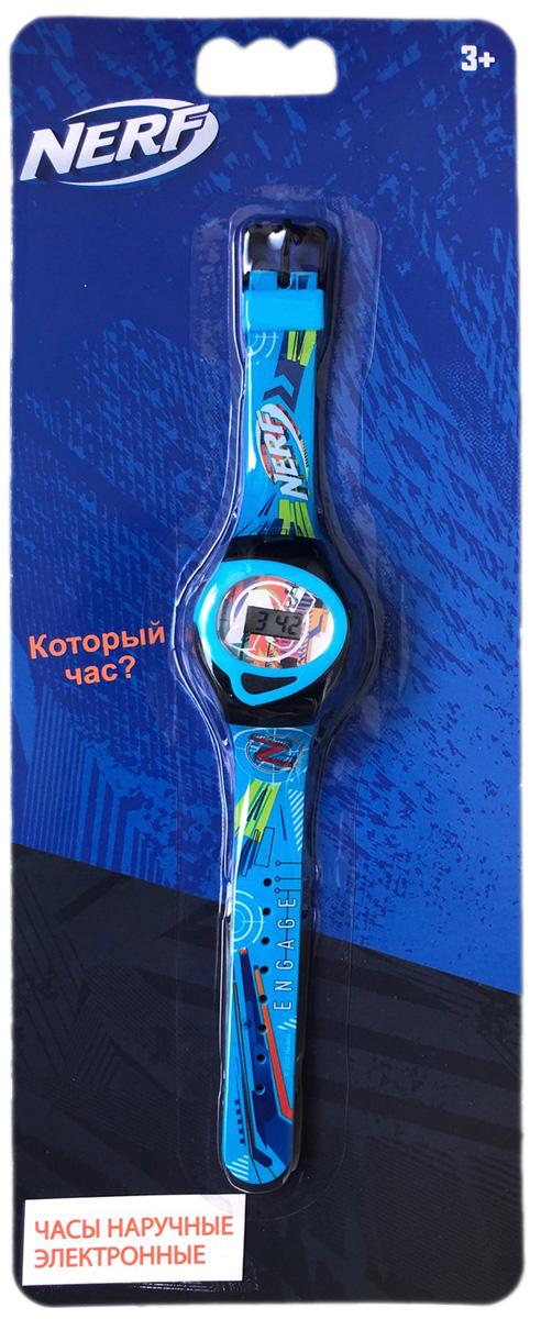 Часы наручные NERF (электронные) (голубые)