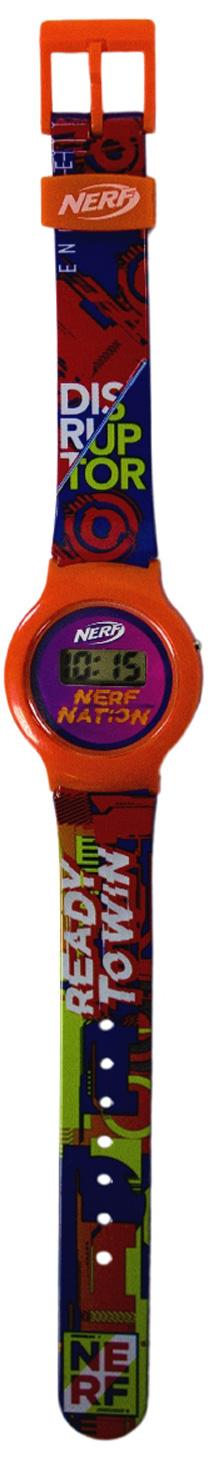 Часы наручные NERF (электронные) (красные)