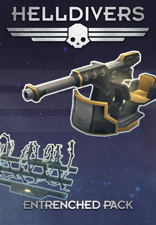HELLDIVERS. Entrenched Pack [PC, Цифровая версия] (Цифровая версия)
