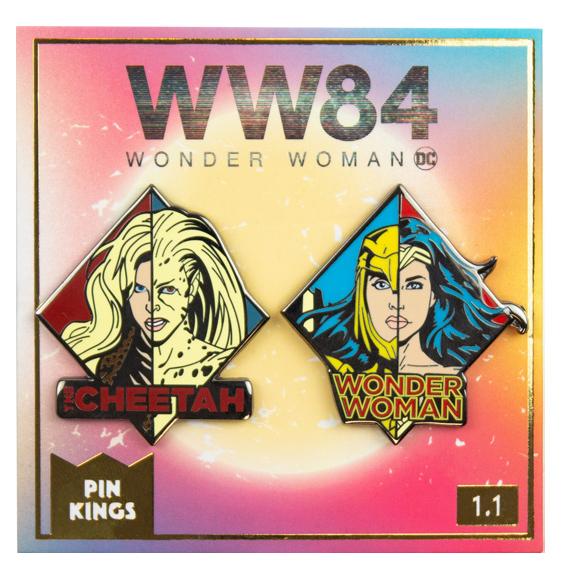 Набор значков DC Wonder Woman 84 1.1 Pin Kings 2-Pack