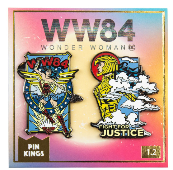Набор значков DC Wonder Woman 84 1.2 Pin Kings 2-Pack