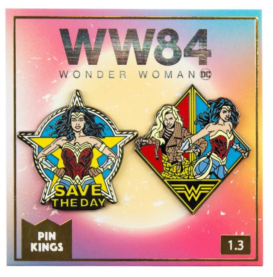 Набор значков DC Wonder Woman 84 1.3 Pin Kings 2-Pack