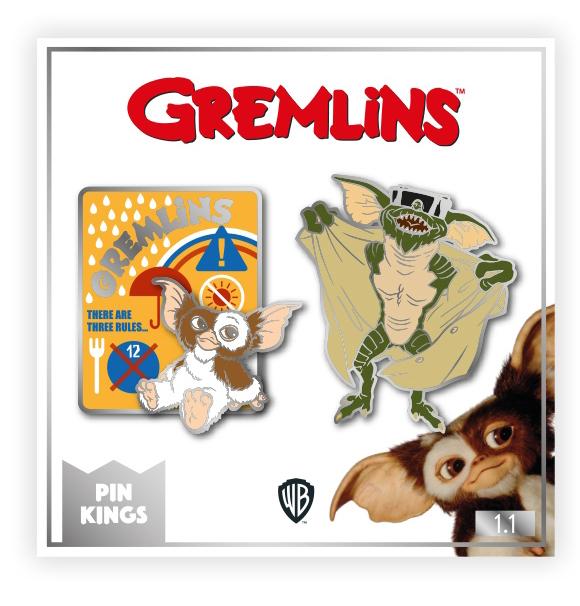 Набор значков Gremlins 1.1 Pin Kings 2-Pack