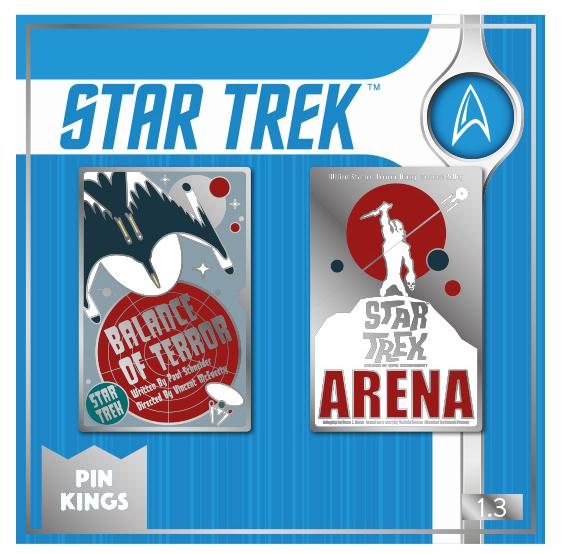 Набор значков Star Trek 1.3 Pin Kings 2-Pack