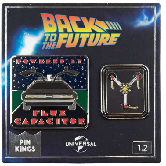 Набор значков Back To The Future 1.2 Pin Kings 2-Pack