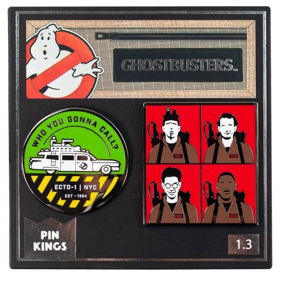 Набор значков Ghostbusters 1.3 Pin Kings 2-Pack