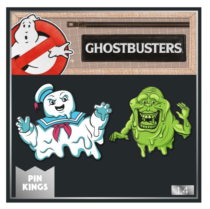 Набор значков Ghostbusters 1.4 Стэй Пафт и Лизун Pin Kings 2-Pack