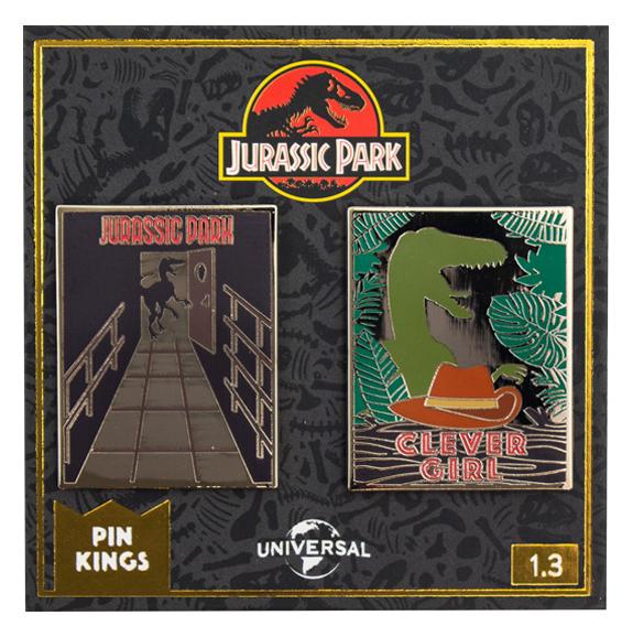 Набор значков Jurassic Park 1.3 Pin Kings 2-Pack