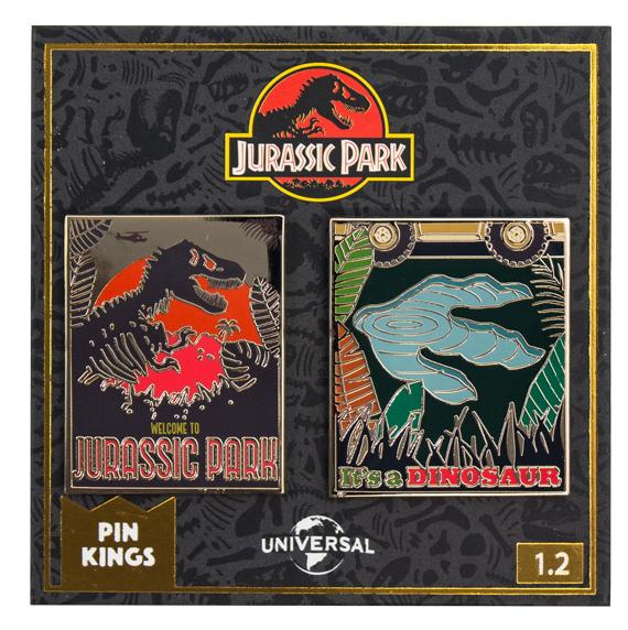 Набор значков Jurassic Park 1.2 Pin Kings 2-Pack