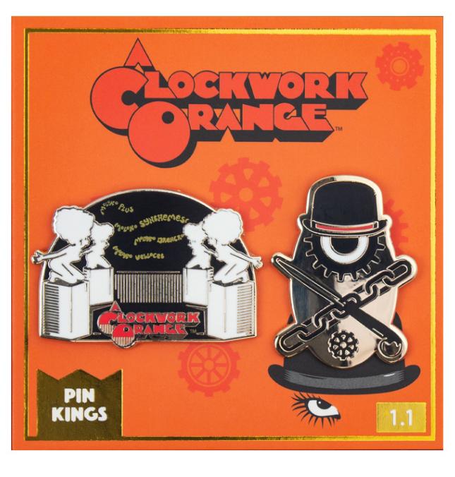Набор значков A Clockwork Orange 1.1 Pin Kings 2-Pack