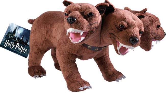 Мягкая игрушка Гарри Поттер: Трёхголовый пёс Пушок (большой)