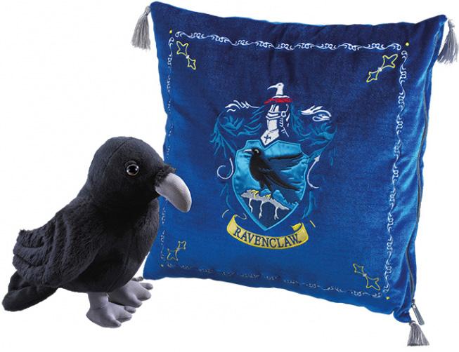 Мягкая игрушка Гарри Поттер: Талисман Когтеврана (ворон + подушка)