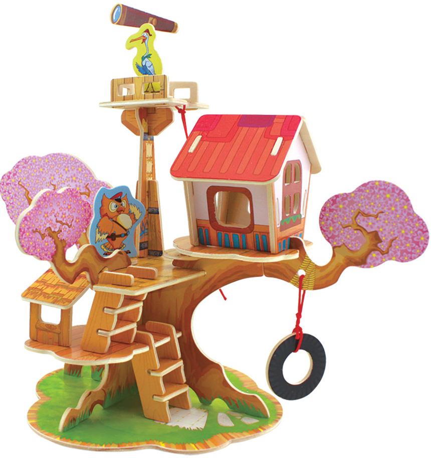 Сборная 3D-модель Лесные домики: Дом сторожа (FHS-002)