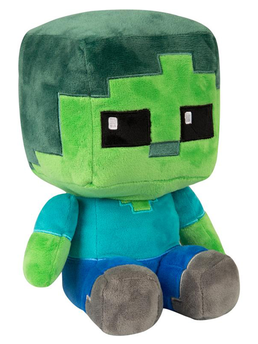Мягкая игрушка Minecraft: Crafter Zombie (22см)
