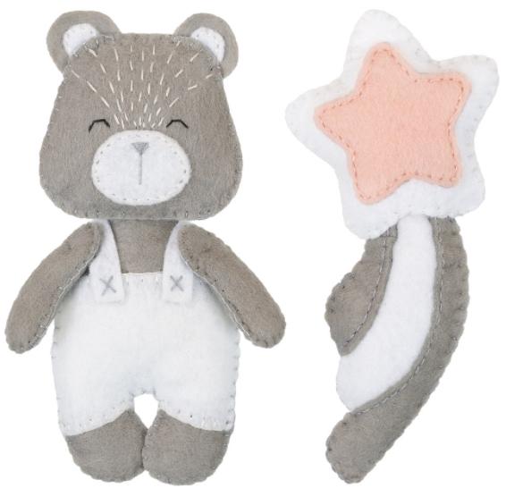Набор для изготовления игрушки Miadolla: Любимый мишка – Новое издание
