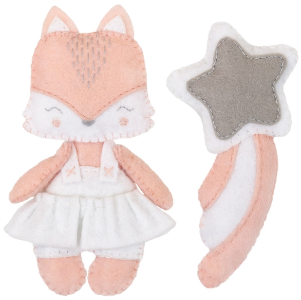 Набор для изготовления игрушки Miadolla: Милая лисичка – Новое издание