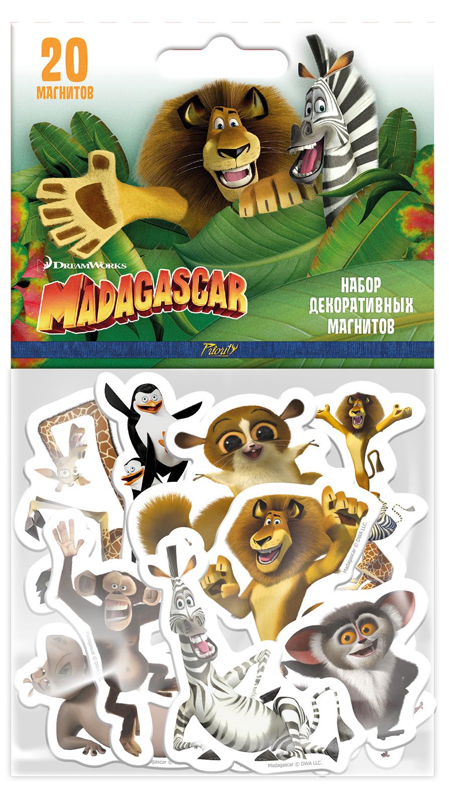 Набор магнитов Мадагаскар 1 (20 шт.)