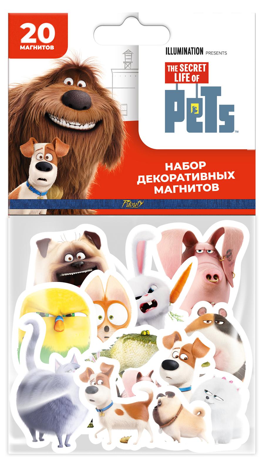 Набор магнитов Тайная жизнь домашних животных 1 (20 шт.)