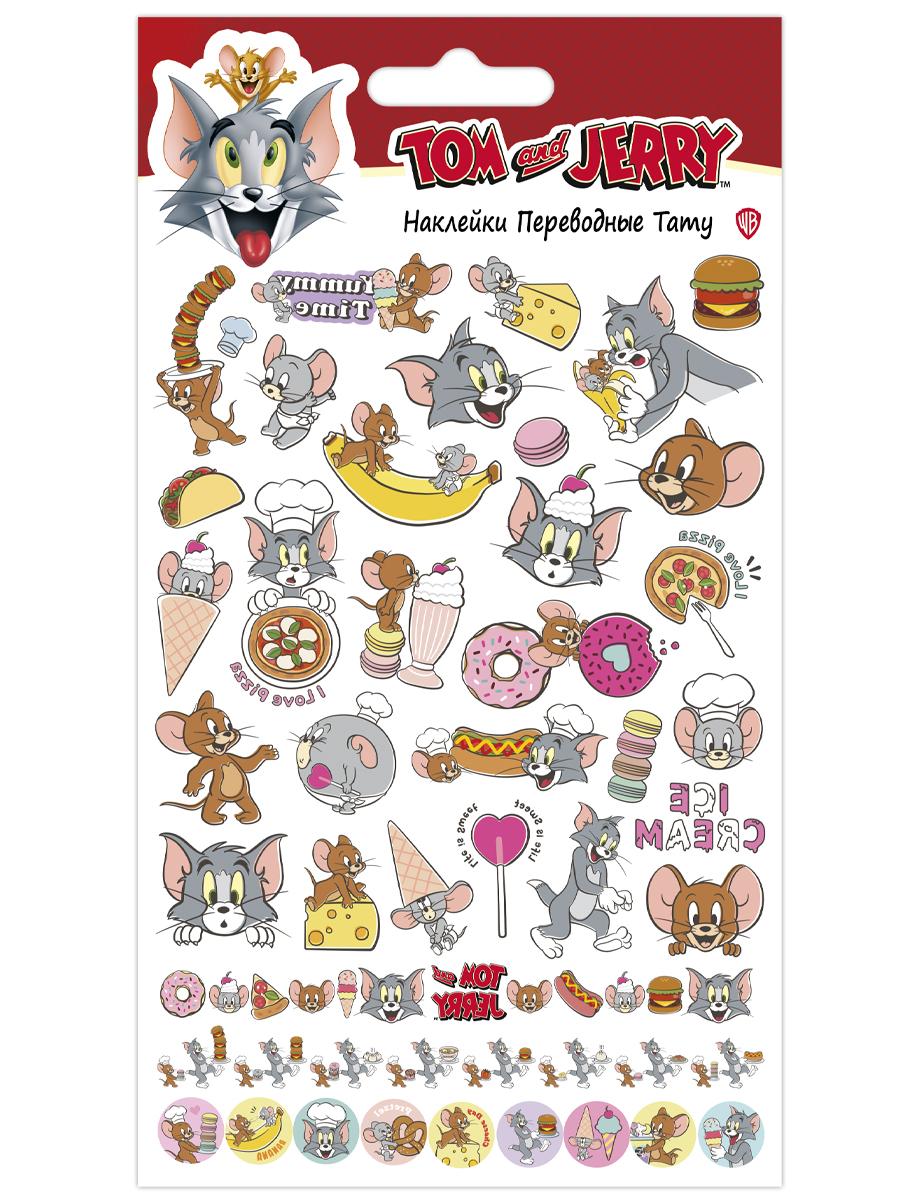 Набор татуировок переводных Том и Джерри 2 (110х200)