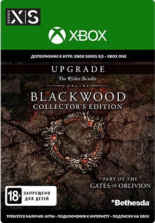 Фото - The Elder Scrolls Online: Blackwood. Upgrade Collector's Edition. Дополнение [Xbox, Цифровая версия] (Цифровая версия) the elder scrolls online morrowind upgrade дополнение [ps4 цифровая версия] цифровая версия