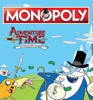 Настольная игра Монополия: Adventure Time фото