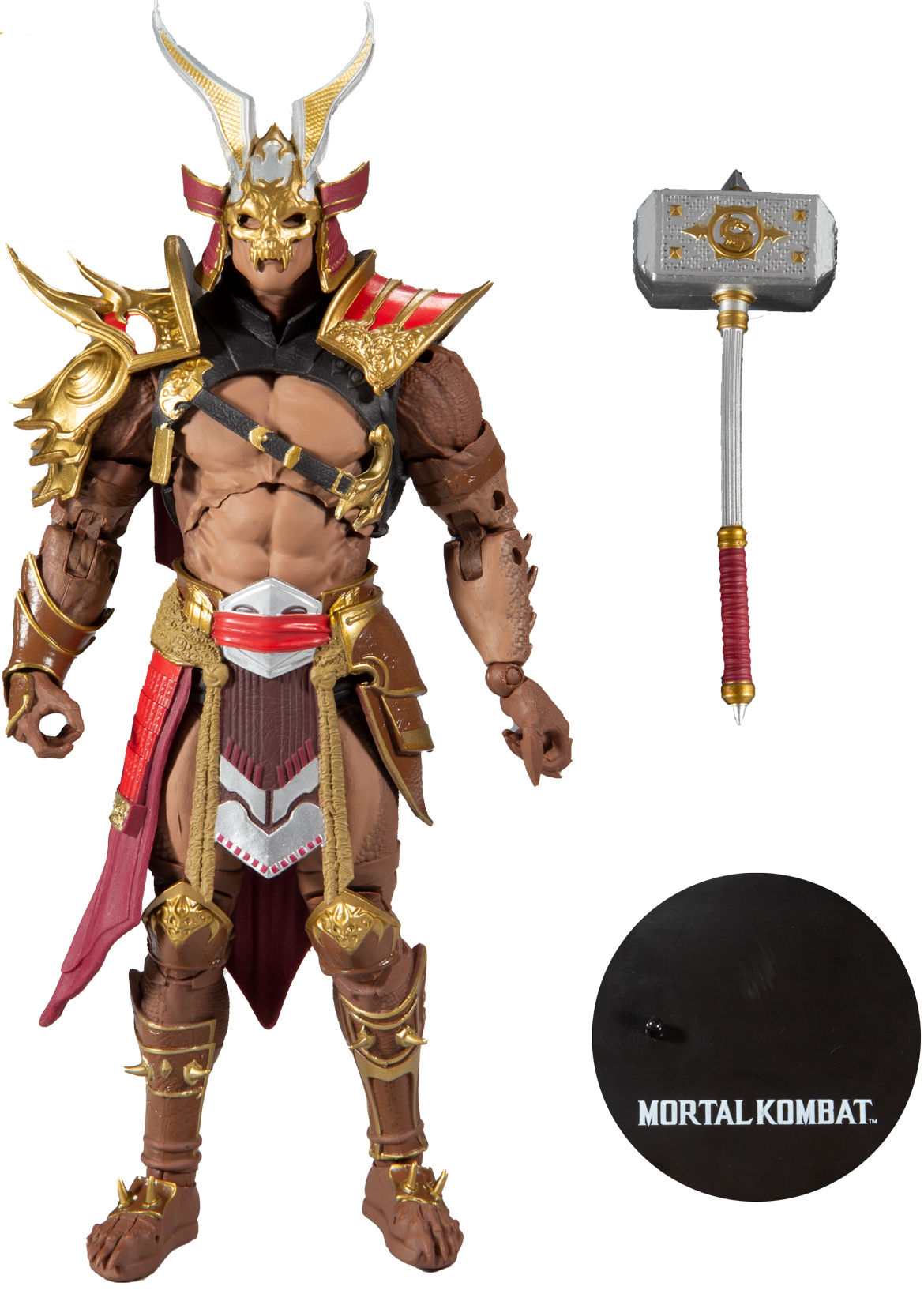 Фигурка Mortal Kombat: Shao Kahn Action Figure Action Figure (17 см)