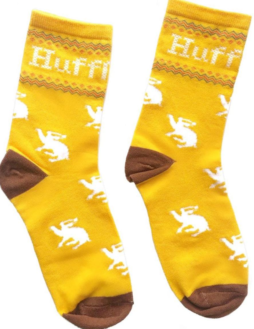 Носки Гарри Поттер – Hufflepuff (желтые)