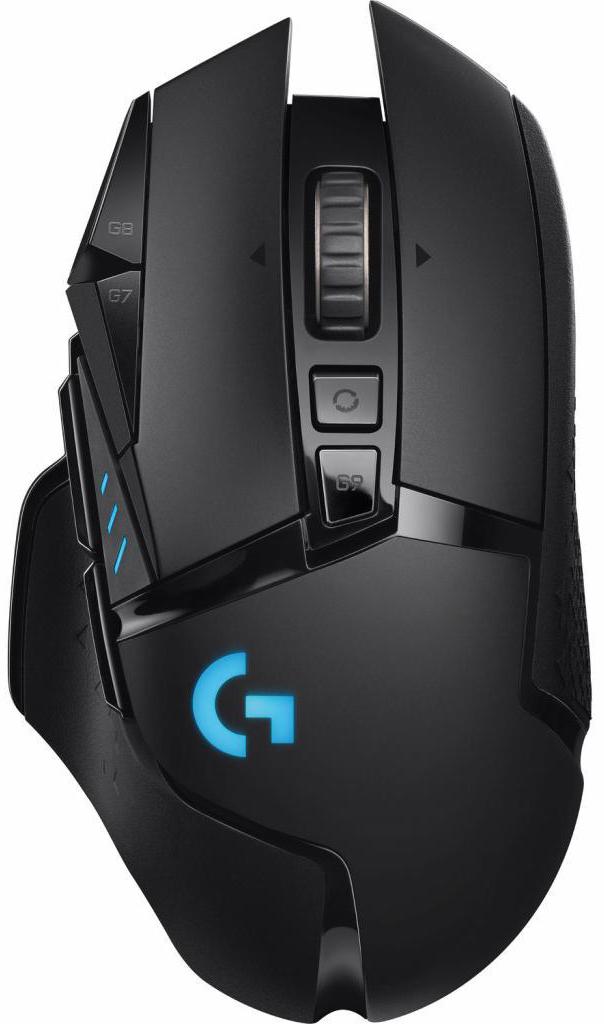 Фото - Мышь Logitech Mouse G502 Lightspeed Wireless Gaming Retail проводная игровая для PC мышь logitech g502 hero игровая оптическая проводная usb белый и черный [910 006097]