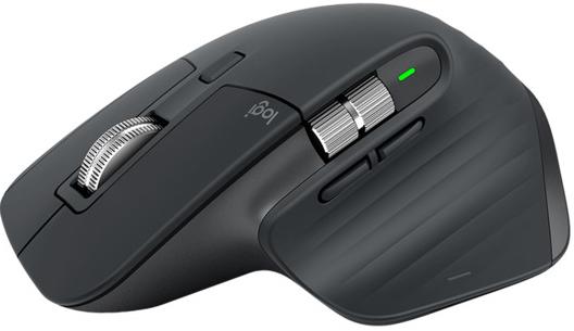 Мышь Logitech Wireless MX Master 3 Advanced Mouse Graphite беспроводная для PC