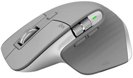 Мышь Logitech Wireless MX Master 3 Advanced Mouse Mid Grey беспроводная для PC