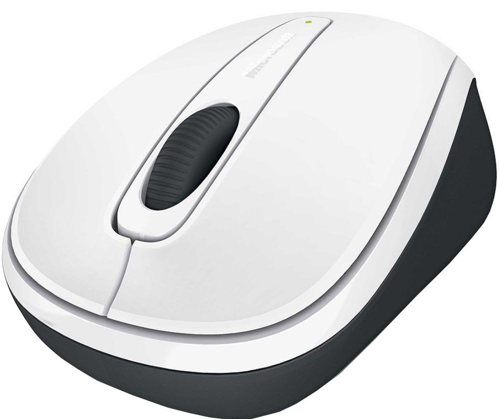 Мышь Microsoft Wireless Mobile Mouse 3500 White Retail беспроводная для PC