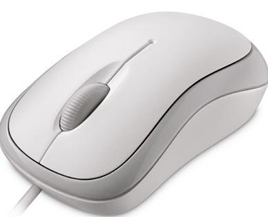 Мышь Microsoft Wired Basic Optical Mouse PS2/USB for Business White проводная для PC
