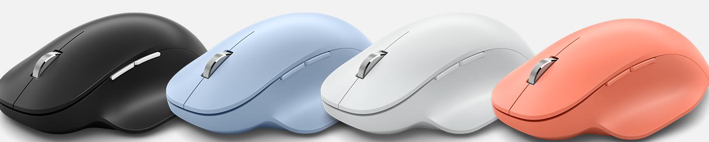 Мышь Microsoft Bluetooth Ergonomic Mouse Glacier беспроводная для PC